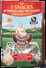 Parmigiano Reggiano snack 15 mnd DOP 5x20 g