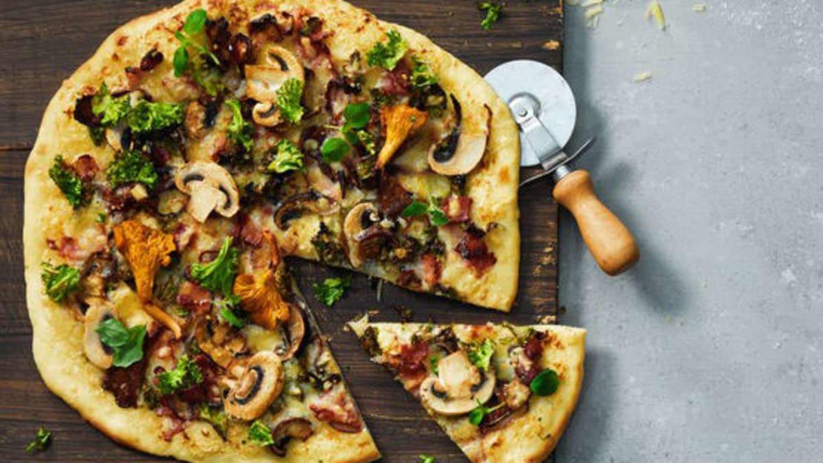 Pizza bianca med Västerbottensost®