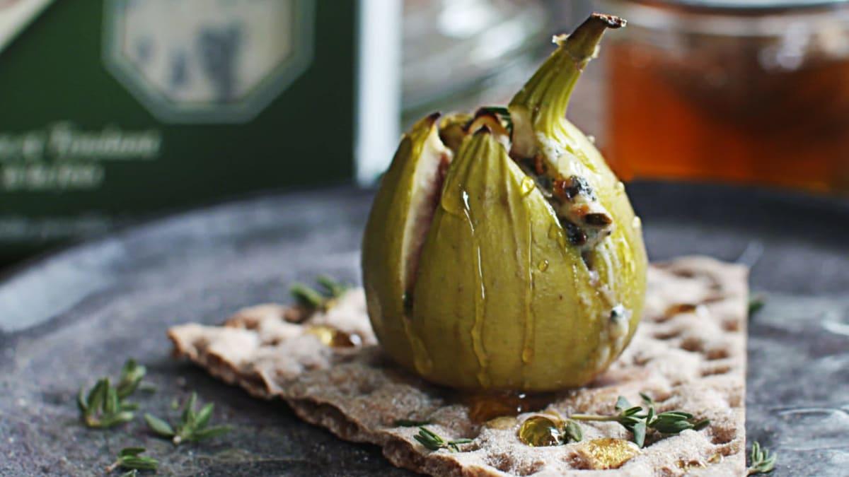 Saint Agur Cheese Figs