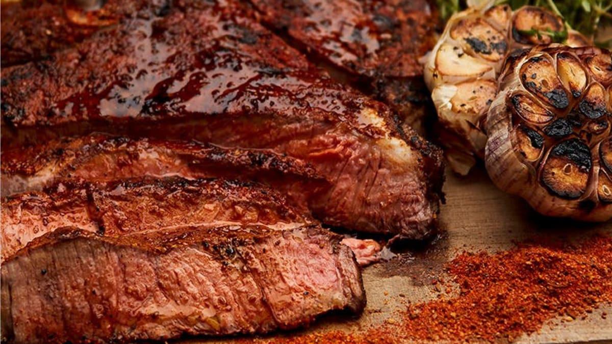 Storfekjøtt med BBQ rub