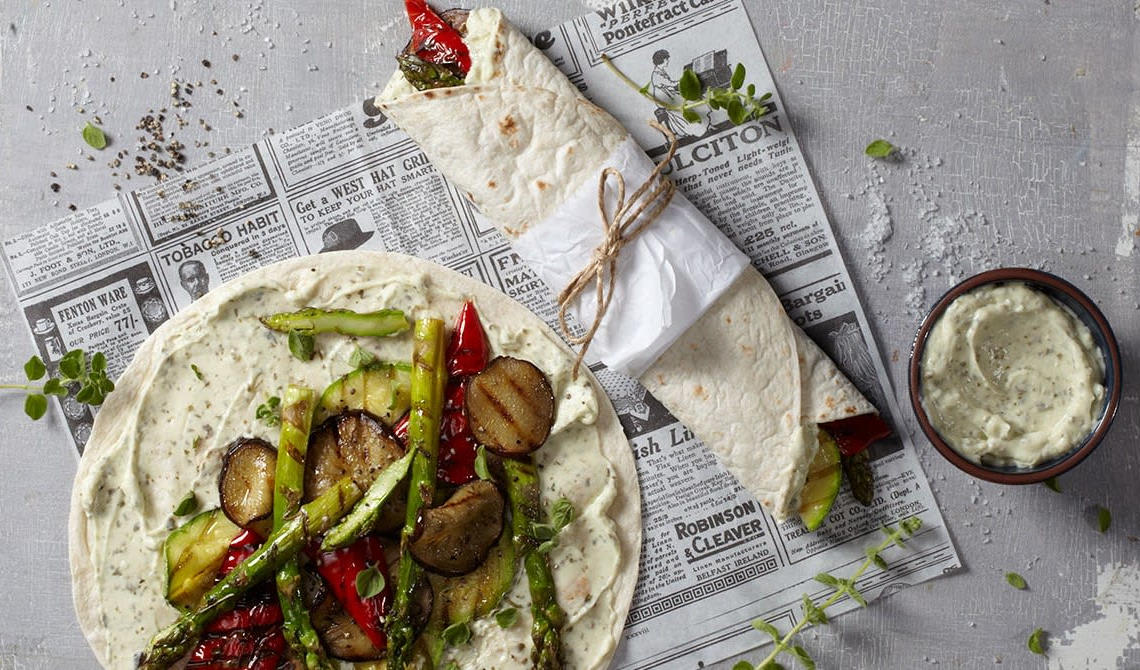 Vegetar tortillawrap