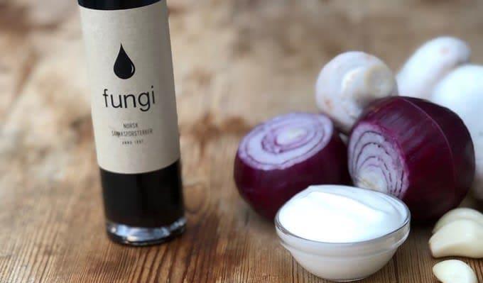 Soppsaus med Fungi