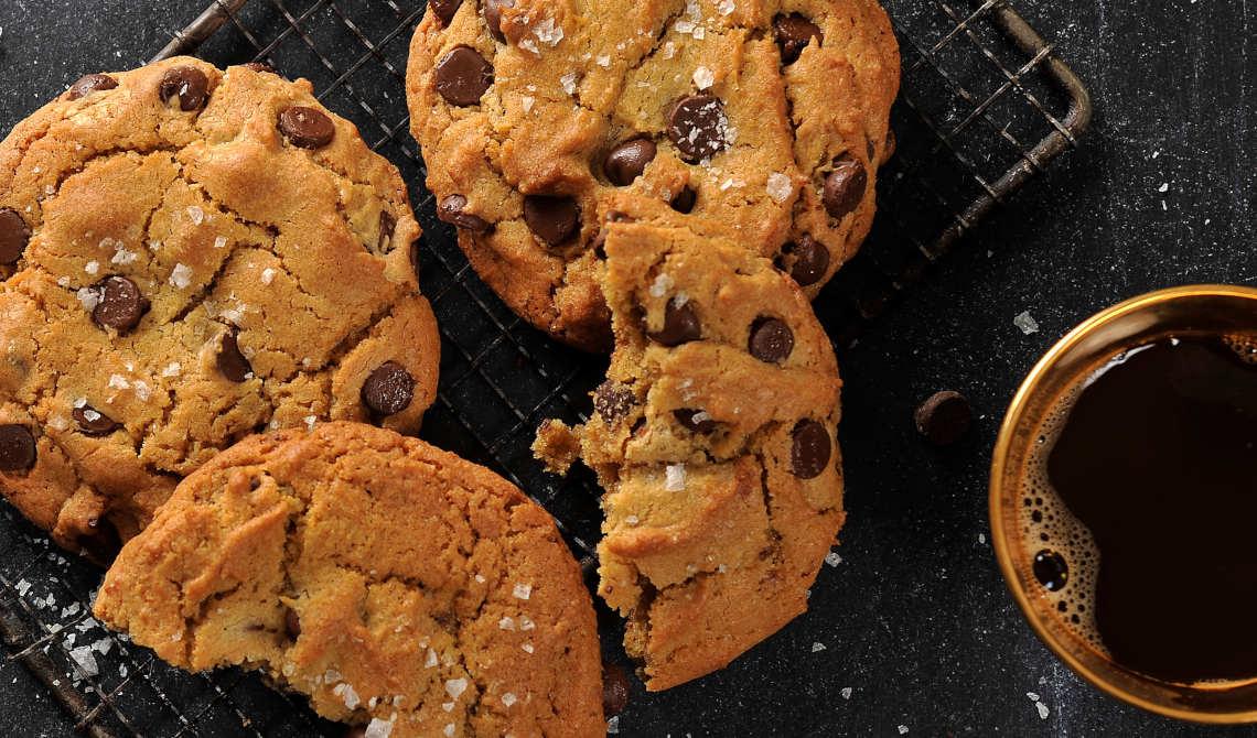 Sjokoladecookies med maldonsalt