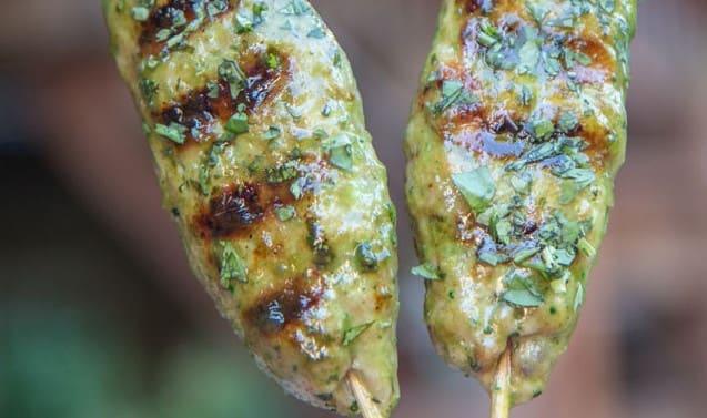 Kyllingspyd med grønn chili