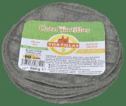 Tortilla Guanajuato blue corn 10 cm 250 g