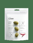 Iliada oliven grønn u/sten m/chili 120 g