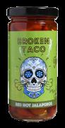 Broken Taco Red Hot Jalapenos 226 g
