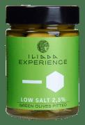 Iliada saltredusert oliven grønn u/sten 340 g