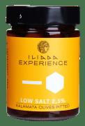 Iliada saltredusert Kalamata oliven u/sten 340 g