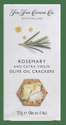 Fine cheese crackers m/rosmarin 125 g