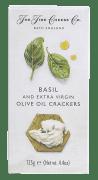 Fine cheese crackers m/basilikum 125 g