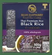 Blue Elephant ris svart 2x250g