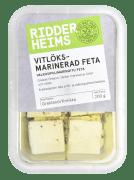 Ridderheims hvitløksmarinert fetaost 190 g