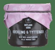 Røyland gelé m/krekling og tyttebær 125 ml