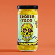 Broken Taco mild banana peppers 227 g