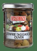 Castellino oliven Taggiasca i olje u/sten 180 g