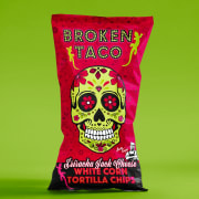 Broken Taco tortillachips Sriracha Jack 150 g