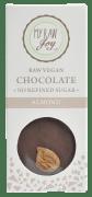 My raw joy vegansjokolade mandel ØKO 30 g