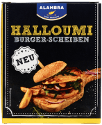 Alambra halloumi burger skiver 200 g