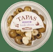 Oliven fersk u/sten m/hvitløk 150 g
