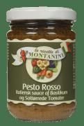 Montanini pestosaus rød 140 g