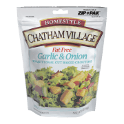 Chatham krutonger m/hvitløk & løk fettfri 142 g