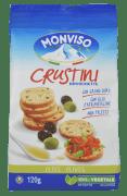 Panmonviso crustini m/oliven 120 g