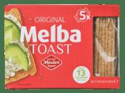 Meulen melba toast firkantet 100 g