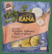 Rana girasoli m/ricotta, spinat, mascarpone 250g