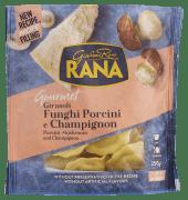 Rana ravioli m/steinsopp & sjampinjong 250 g
