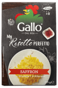 Riso Gallo risottoris m/safran 175 g