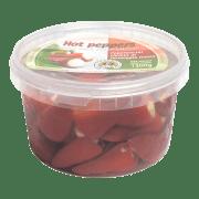 Ostefylte chilipepper sterk 1,3 kg