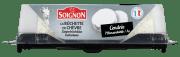 Soignon chèvre m/aske 125 g