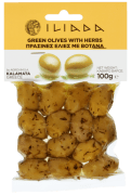 Iliada oliven grønn m/sten m/urter 100 g