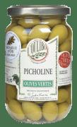 Lucques oliven picholine m/sten naturell 380 g