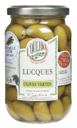 Lucques oliven m/sten naturell 380 g