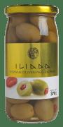 Iliada oliven grønn m/paprika 370 g