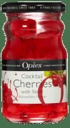 Opies coctailbær rød m/stilk 225 g