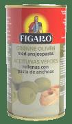 Figaro oliven grønn m/ansjos 350 g