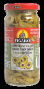 Figaro oliven grønn skivet 240 g