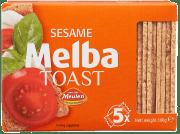 Meulen melba toast firkantet m/sesam 100 g