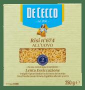 De Cecco eggpasta risi 250 g
