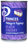Princes kirsebærfyll sort 410 g