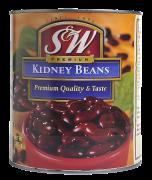 # S&W bønner røde (kidney) 3 kg