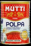 Mutti tomater knuste m/hvitløk 400 g