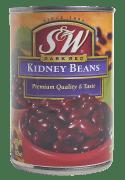 S&W bønner røde (kidney) 432 g