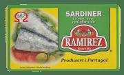 Ramirez sardiner i tomatsaus 124 g