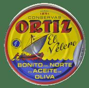 Ortiz tunfisk hvit i olivenolje 600 g