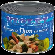 Violet tunfiskbiter i vann 1,85 kg
