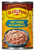 Old El Paso refried beans 453 g